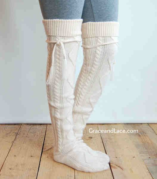 Slouch Socks Knitting Pattern : 36 best images about Socks on Pinterest Short dresses, Sock and Two tones