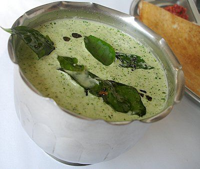 Kothimira-Kobbari Pachadi - Coriander-Coconut Chutney - Indian Food Recipes | Andhra Recipes | Indian Dishes Recipes | Sailu's Kitchen » All Recipes Andhra Recipes Green Leafy Vegetables Indian Chutney Recipes - Pachadi Indian Vegetarian Recipes South Indian Recipes Indian Food Recipes | Andhra Recipes | Indian Dishes Recipes | Sailu's Kitchen