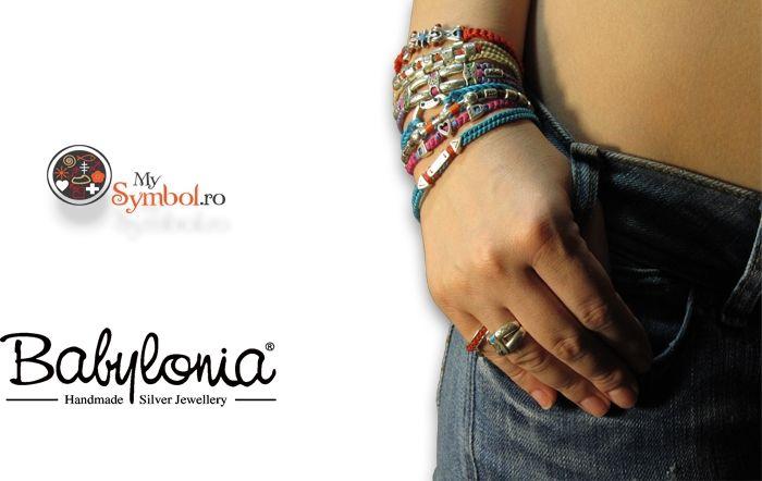 Babylonia handmade jewelry @ www.mysymbol.ro