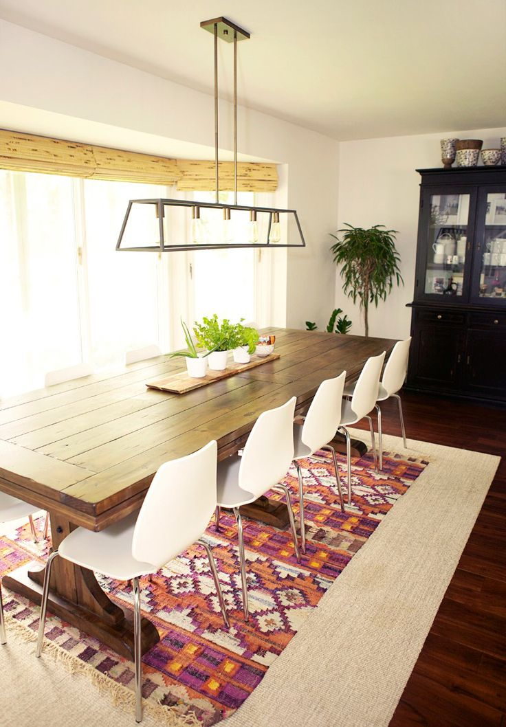 Lanetern Light Fixture For Long Dining Table. A Home Designed For Family In  Wisconsin |