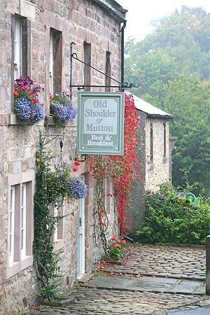 Old Shoulder of Mutton Bed and Breakfast (Winster, Derbyshire, UK)  17th century home, formerly an inn