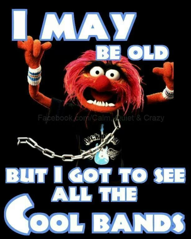 Top 50 Muppets Loc 80: I May Be Old But I Got To See All The Cool Bands
