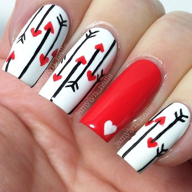 17 Best Ideas About Long Red Nails On Pinterest