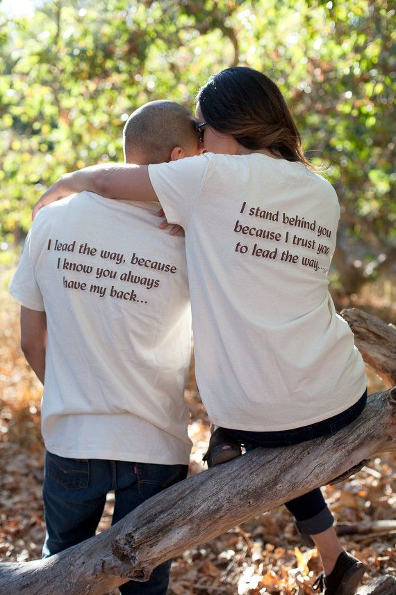 Matching Couples Shirts Anniversary Gift Idea Tshirt Set