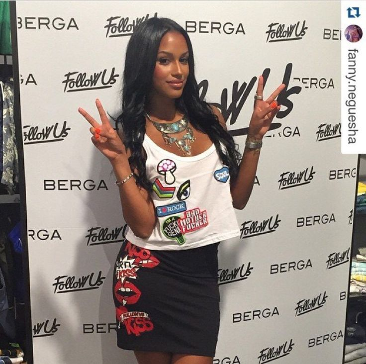 Fanny Neguesha indossa look Follow Us #followusfashion #followus #love #woman #collection #ss15 #fashion #style