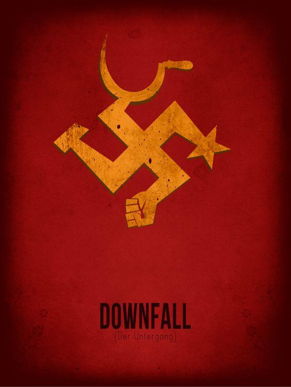 Downfall (Der Untergang) (2004) ~ Minimal Movie Poster by Subhajyoti Ghosh