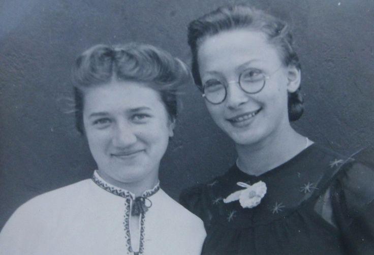 Женские прически на фотографиях 1940-х годов, СССР. 1941 год.