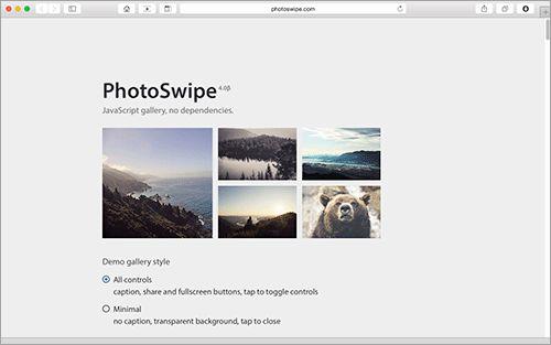 スワイプでの操作が非常に快適な画像ギャラリーのスクリプトを紹介します。 スマホやタブレットだけでなく、デスクトップでのクリックやドラッグ、そしてキーボード操作にも対応している優れ物です。 PhotoS