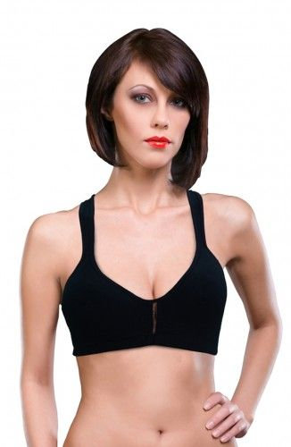 This Sport bra without pad provides additional support to a female during physical exercise