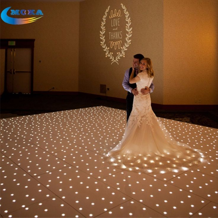 3850.00$  Watch here - http://aikzq.worlditems.win/all/product.php?id=32268919877 - 12X12ft White Star Light Starlit LED Dance Floor Twinkling Led Dance Floor Rental for Wedding Party Decoration