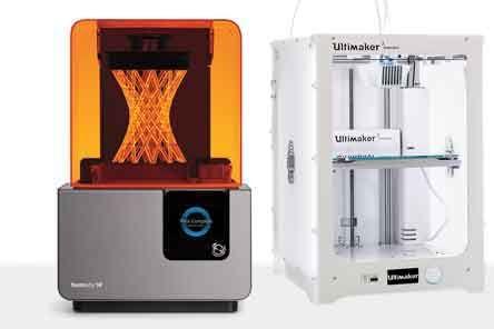 imprimante polyjet et FDM Ultimaker 3 extended pour la réalisation de prototypes jusqu' à 20 microns et un volume d'impression de 215 x 215 x 300 microns http://www.formes-et-volumes.fr/actualite.html