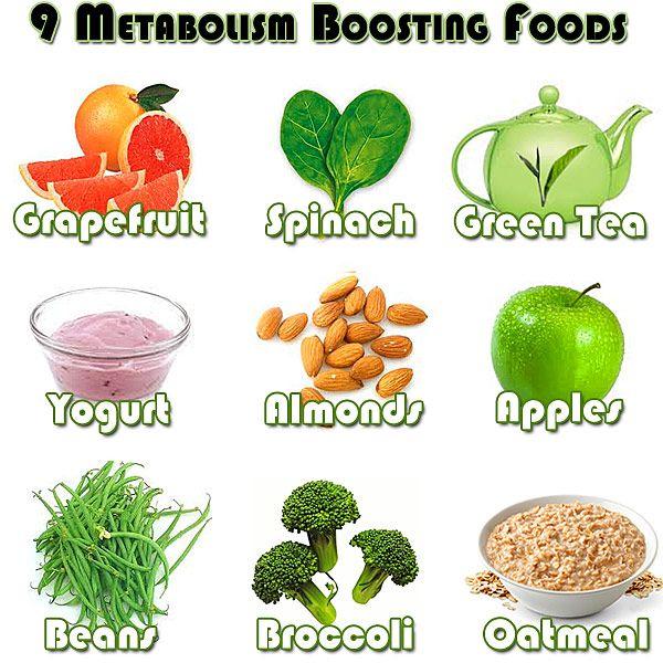 9 Great Metabolism Boosting Foods