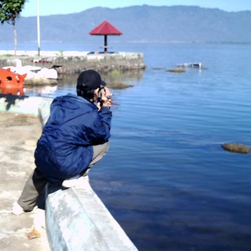 Surveying the highest volcano in Indonesia, Mount Kerinci, in West Sumatra.