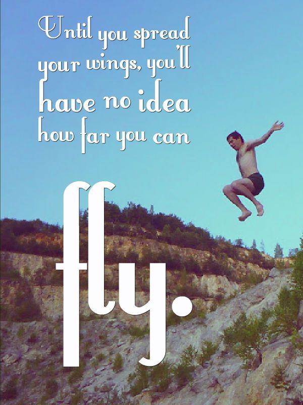Fóbia Vám bráni žiť. Kým nerozprestriete krídla, nikdy nezistíte, kam až môžete doletieť.