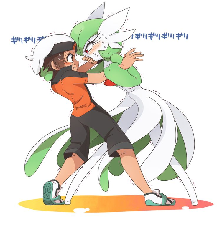Gardevoir used Sweet Kiss !