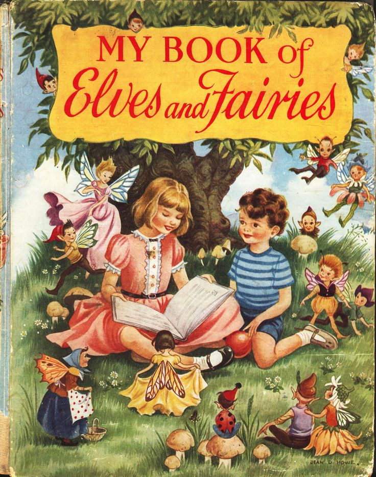 MY BOOK OF ELVES AND FAIRIES - HILDA BOSWELL - COLLINS 1955