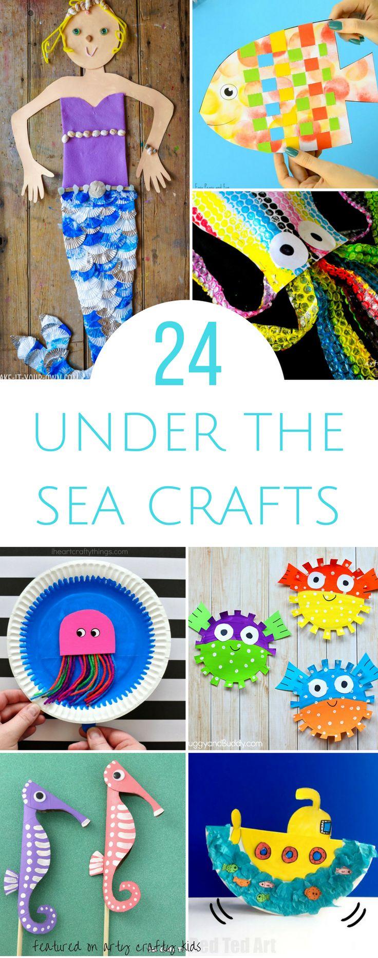 Arty Crafty Kids | Craft | Under the Sea Crafts | 24 Awesome Under the Sea crafts for kids