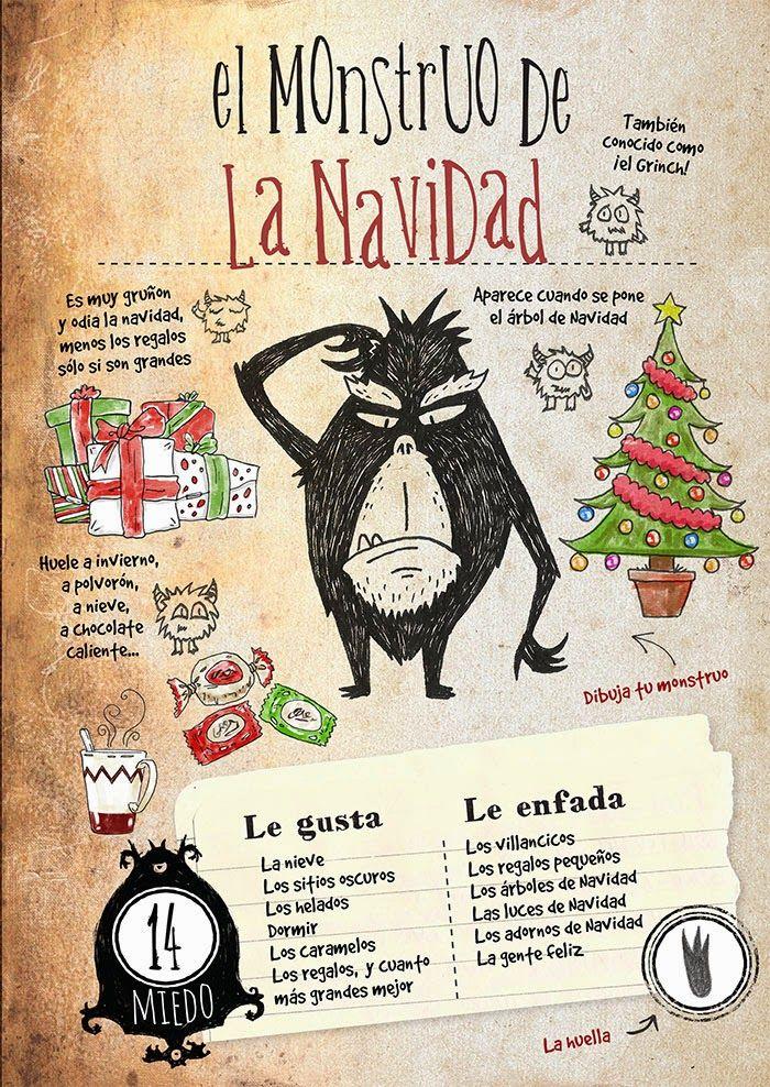 Pequeños Detectives de Monstruos: El Monstruo de la Navidad http://www.detectivesdemonstruos.com/p/descargas.html