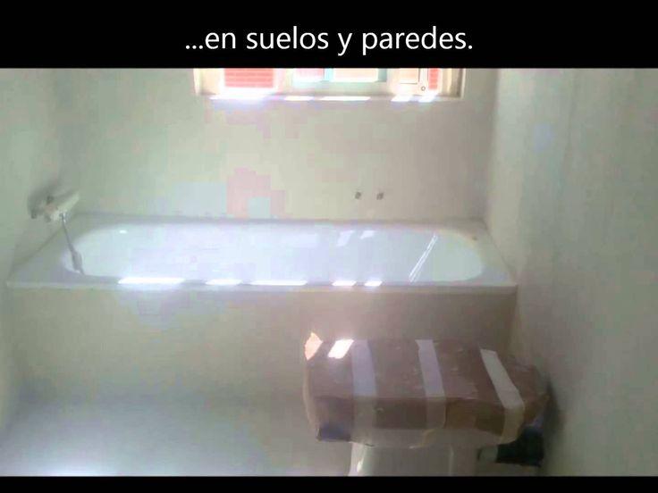 Reforma Baño Con Microcemento:Reforma de baño con microcemento color sahara aplicado por uno de