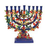 Menorahs & Hanukkah Candles