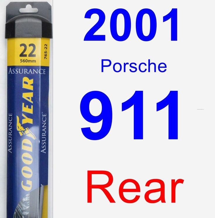 Rear Wiper Blade for 2001 Porsche 911 - Assurance
