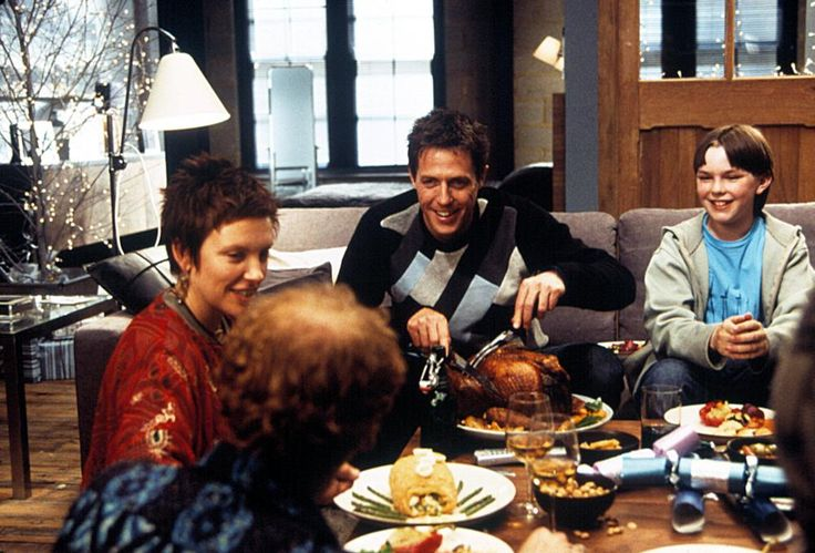 ABOUT A BOY, Toni Collette, Hugh Grant, Nicholas Hoult, 2002,  | Essential Film Stars, Hugh Grant http://gay-themed-films.com/film-stars-hugh-grant/ .