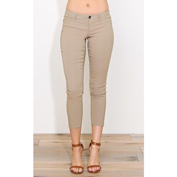 17 Best ideas about Skinny Khaki Pants on Pinterest | Green jeans ...