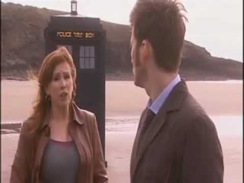 """""""The Doctor, in the TARDIS with Rose Tyler.  Just as it should be."""" Doctor Who Series 4 Journey's End - Deleted Scene"""