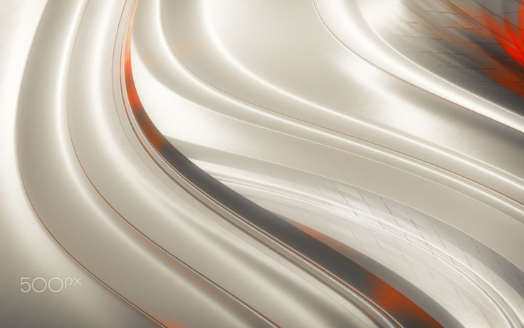 "Light Glossy Abstraction - Metal Light Glossy Digital Art Abstraction. From ""Work with Metal"" digital art series."