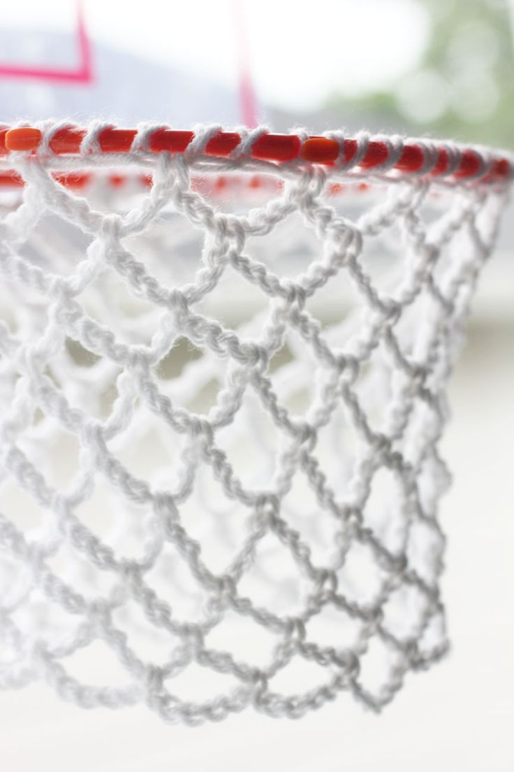 Repeat Crafter Me: Crochet Basketball Hoop Net