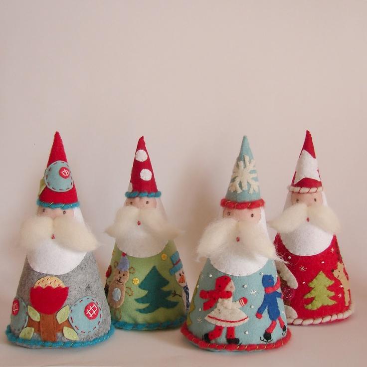 Roxy Creations: Christmas Crafts (lots of felt ornaments)