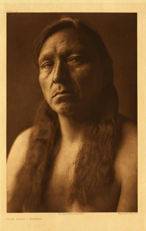 American Indians : Four Horns - Arikara.