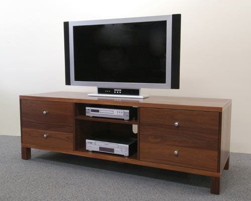 Euro lowline Entertainment Unit shown in Jarrah.