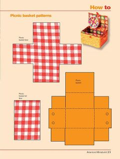 Picnic Basket tutorial. Fantastic gift or date idea to customize.