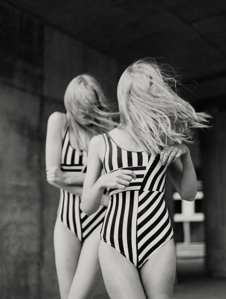 #stripes #swimsuit
