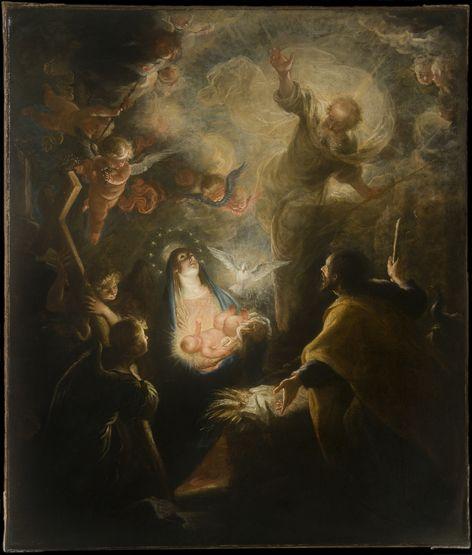 Mateo Cerezo, Le présage de la Passion, 1660/66, huile sur toile, 1,40 x 1,20 m. Collection privée (photographie © IRPA-KIK, Bruxelles)