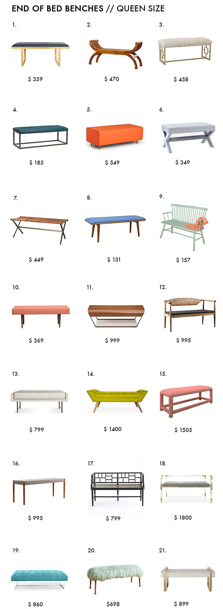 25 best ideas about Bedroom Benches on Pinterest  Bed bench End