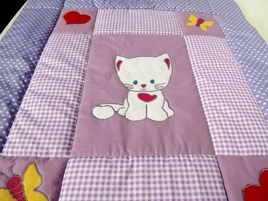Baby Quilt Personalized Crib Quilt Baby by Mariannasboutique