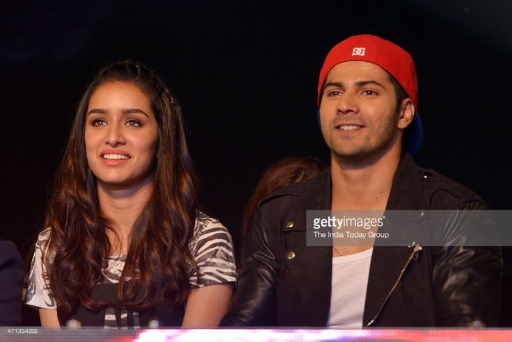 Varun Dhawan and Shraddha Kapoor attending a dance completion and promoting their upcoming movie of ABCD2 in Mumbai.