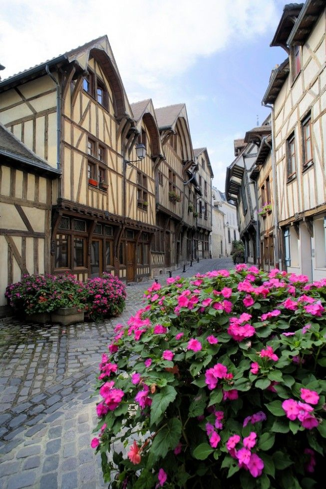 Troyes, France ~ Medieval town, 89 miles from Paris. A national treasure, the town has 3 important churches and 5 top-notch museums.
