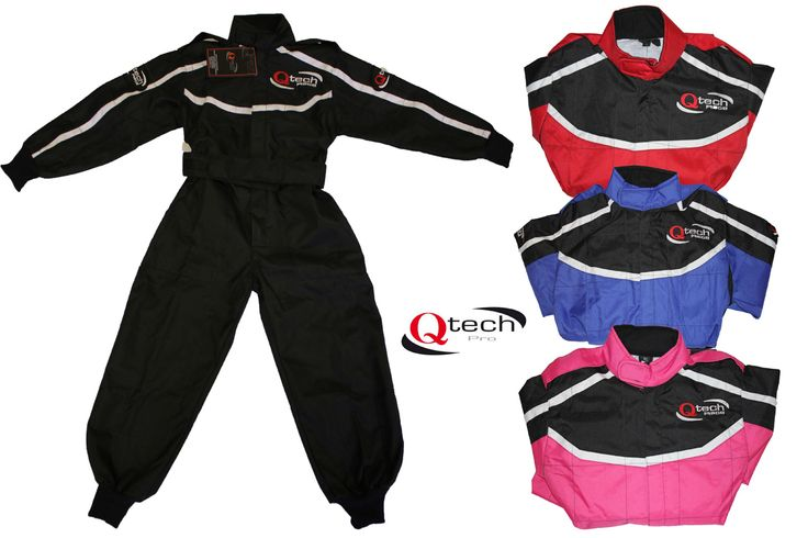 complete the look the kids love with our brand new race suit for all ages of kids.....