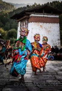 Demon Dance of Bumthang Tshechu