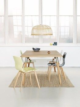 HASLEV new dining table designed by Strand+Hvass