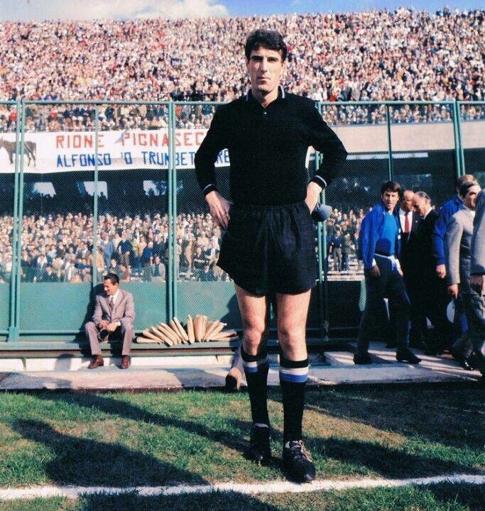 Juventus goalkeeper Dino Zoff in 1972.