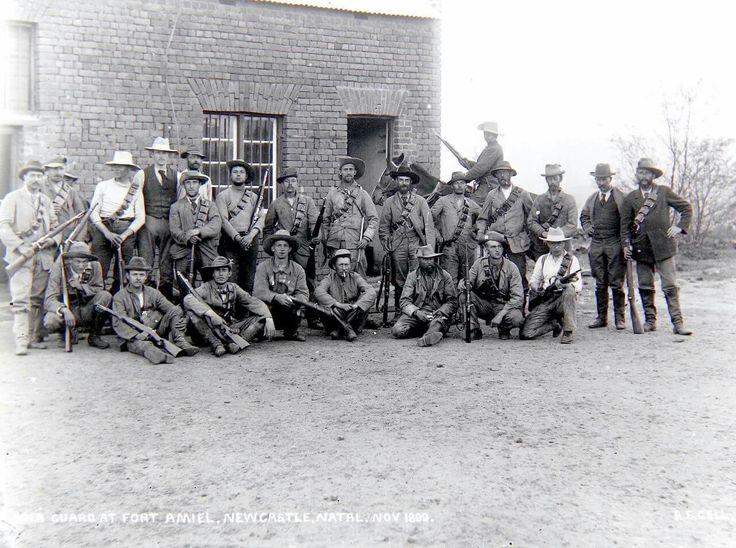The guard at Fort Amiel ..Newcastle ..November 1899