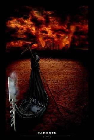 Caronte, el barquero de las almas