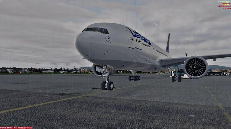 SICK EDITS IN P3D?! | Copenhagen to Corfu | PMDG 777 Lufthansa | EKCH - ...