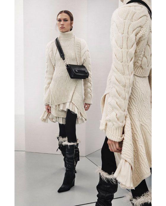 Zara cashmere kleid