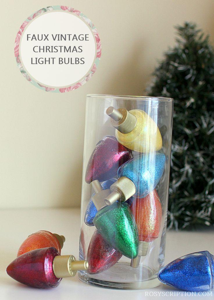 Best 25+ Vintage christmas lights ideas on Pinterest | Battery ...