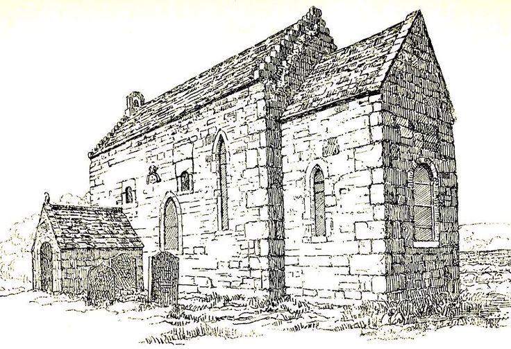 Escomb Church, an early Anglo-Saxon church
